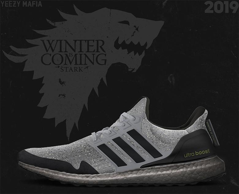 Game of Thrones Le prime foto delle scarpe Adidas ispirate