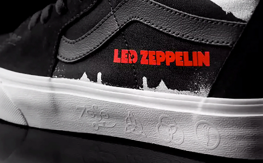 Vans arruola i Led Zeppelin per una capsule rock
