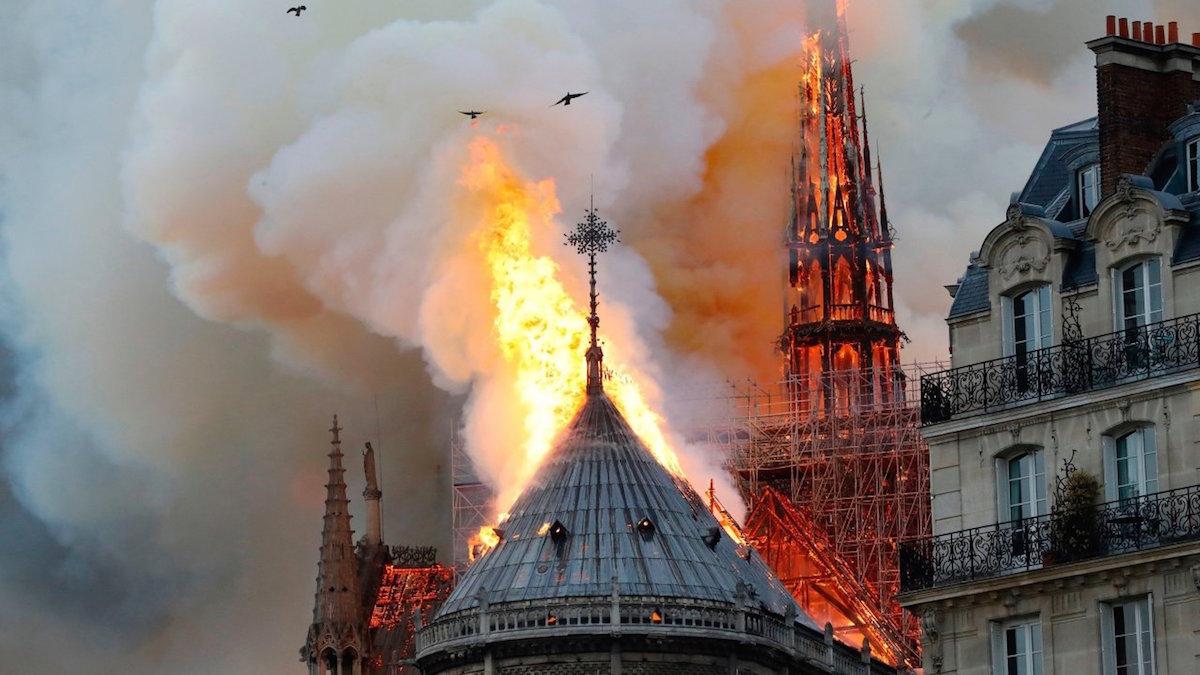 Raccolto un miliardo per Notre-Dame