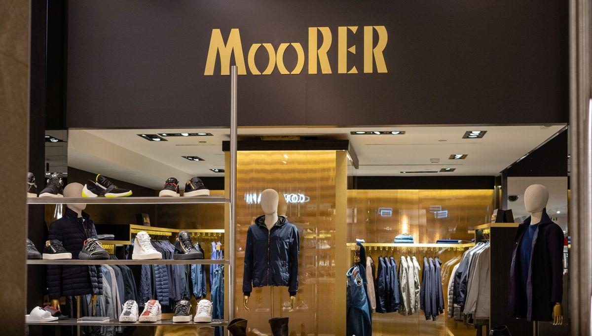 Moorer arriva alla Rinascente di Milano