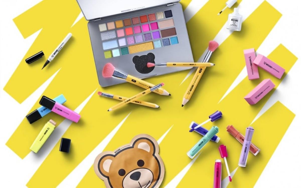 Moschino, seconda co-lab con Sephora per il make-up