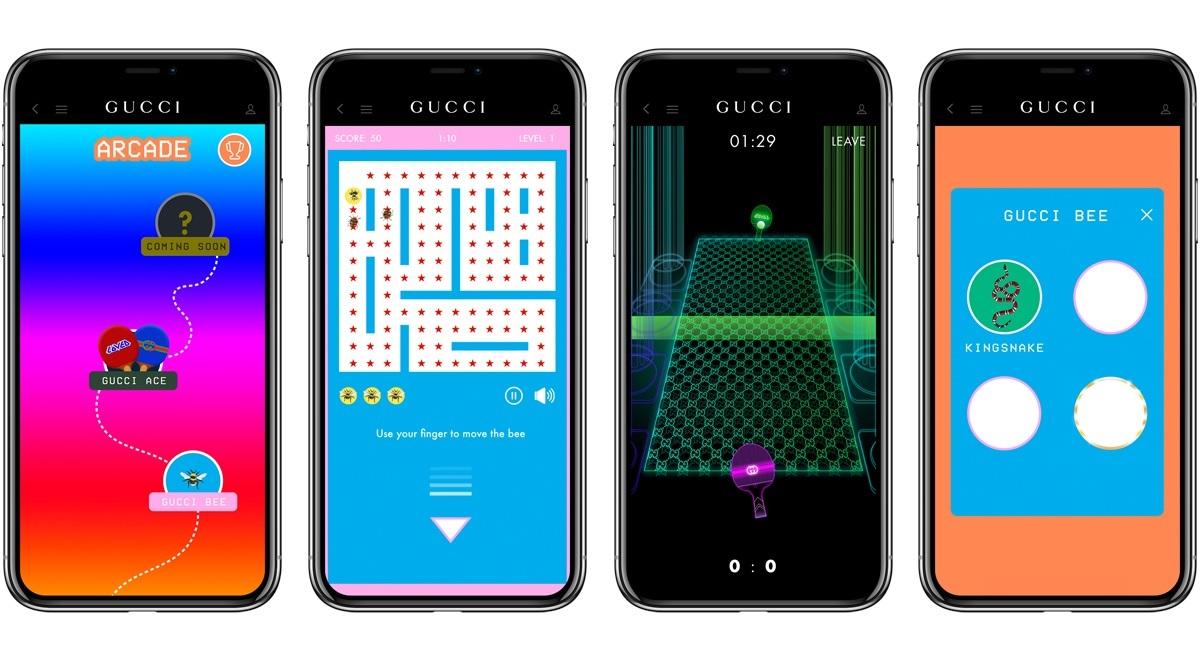 In Arcade si gioca con simboli di Gucci - MFFashion.com