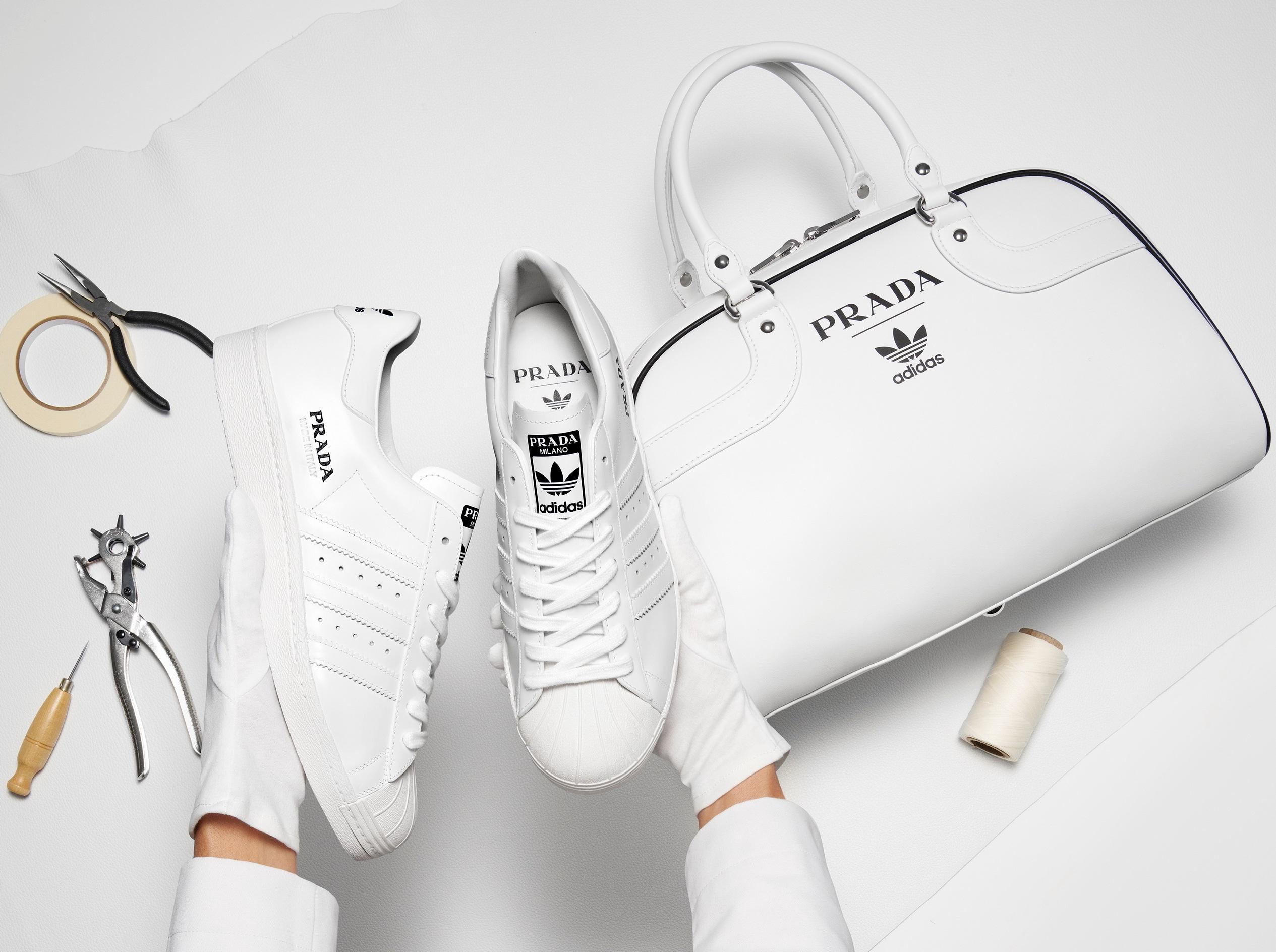 Prada e Adidas svelano la prima fase della loro co lab