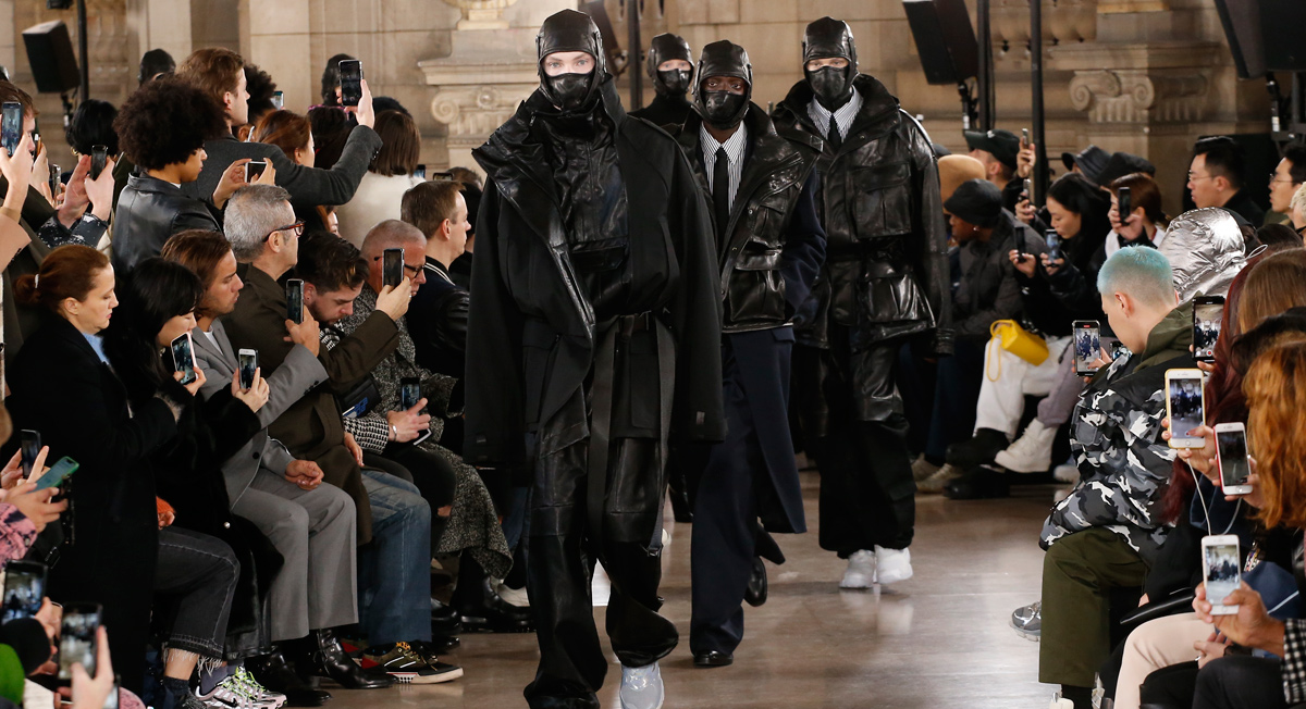 maschera bocca fashion
