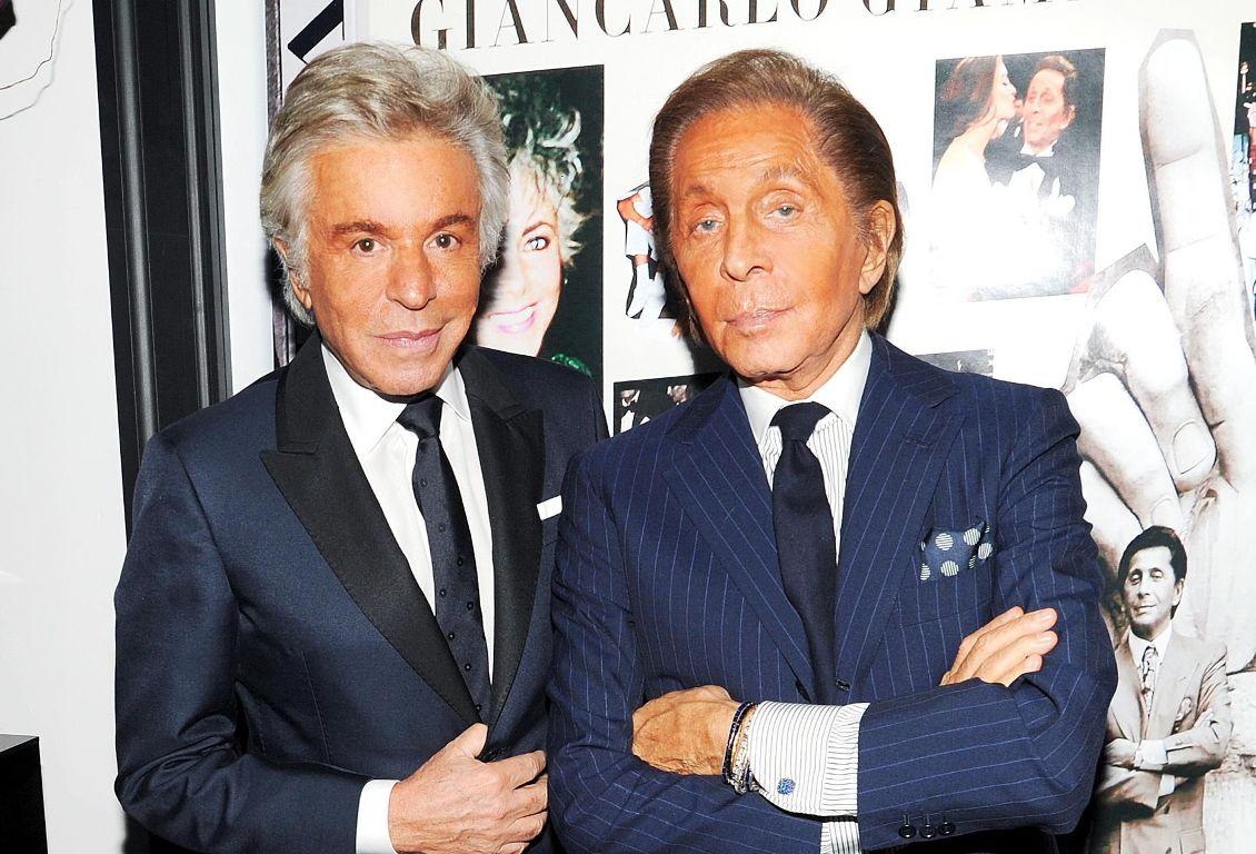 Valentino Garavani e Giancarlo Giammetti donano un milione a Roma - MFFashion.com